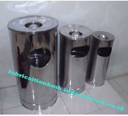 standing ashtray | standing ashtray outdoor | tempat sampah stainless | stand up ahtray | stainless trash can