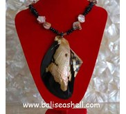 Natural Shell Jewelry Indonesia/ Kalung Mabe Natural