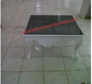 Indonesia Furniture Coffe Table Square with Glass | defurnitureindonesia DFRIT- J006