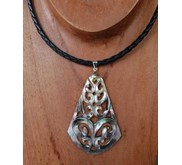 Necklace Carving Shell / Kalung Ukir Unik