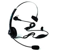 Headset MOTOROLA PMLN4445 With Boom Microphone And In Line PTT/ Vox SWitch ( Untuk HT Motorola Gp-2000, Gp3188, Cp1300, Cp1660 )