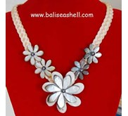 Flower Design Necklace Carving / Kalung Motif Jepang Aksen Bunga