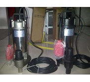 SUBMERSIBLE PUMP STAINLESS STEEL SEWAGE, DRAINAGE, SLURRY WITH AGITATOR, DREDGING, FOR SLUDGE/ SLURRY ABRASIVE DAN CORROSIVE, SEAWATER CHEMICAL, WASTE WATER