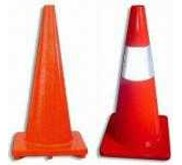 TRAFFIC CONE / SAFETY CONE ( kerucut elastis)