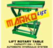 Scissor Lift Table, Table Lifter With Auto Rotary