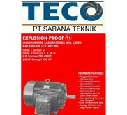 TECO GEAR MOTOR, INDUCTION MOTOR, INVERTER, & SPEED CON EX. TAIWAN