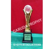 Trophy Timah Golf Plakat Golf Piala Golf