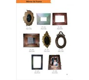 mirror and frame