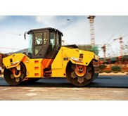 Control solution for full hydraulic double/ single drum vibratory compactors