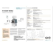 X Ray Scanner HI Scan 5030 SI