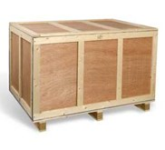 Wooden Crate & Wooden Box