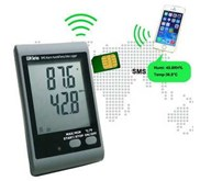 GSM SMS Alarm Temperature and Humidity Data logger AMT-138