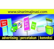 billboard - neon box -advertising service