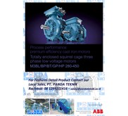 - ABB - Efficiency Low Voltage Perfomance Motor -