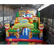 Rumah Balon Bouncy Istanabalon 6 x 8 M Slide Pororo
