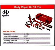 BODY REPAIR KIT 10 TON