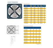 "Exhaust fan CKE 16""/220V/1phase"