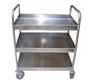 Trolley makanan 3 susun , 2 handle