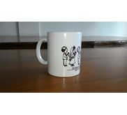 mug 11 oz bone super white import