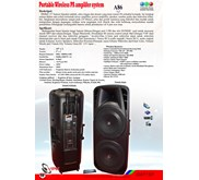 Multi Fuctional Portabel Wireless PA System - A86