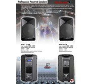 Professional Powered Speakers SQ-12AL/ML Series
