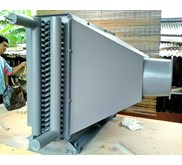 Jual Air Cooled Heat Exchanger Air Heater Cooling Coil Steam Jakarta