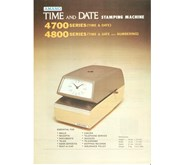 Amano Time & Date Stamp TS 4740