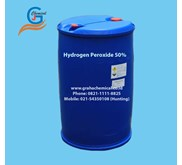 Hydrogen Peroxide 50% (Packing Drum Plastik)