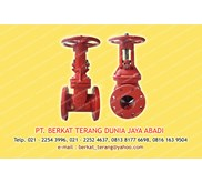 GATE VALVE OS and Y merk FIREKING by VIKING Size 4 inch