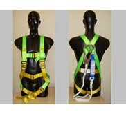 Full Body Safety Harness ADELA HD45 Body Harness Green
