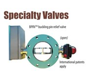 Buckling Pin Relief Valve - Special Safety Valve BS&B