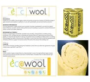 Glasswool - Ecowool Insulation Surabaya