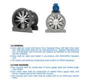 Jual Axial Fan Marine