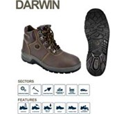 BATA INDUSTRIALS SAFETY SHOES PROJECT DARWIN BROWN