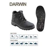 BATA INDUSTRIALS SAFETY SHOES PROJECT DARWIN BLACK