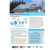 Paket PLTS Rooftop On-Grid 3 KWp