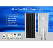 Lampu Jalan LPJU Panel Surya All In One 20W