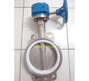 Butterfly Valve Full SS TOZEN Gear
