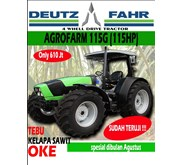 Traktor Pertanian Deutz Fahr 115 HP