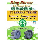 RING BLOWER CHUAN FAN TURBO BLOWER PT SARANA TEKNIK