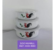 Rantang Sauce Pot Pan Mixing Bowl Bunny Set Ayam Jago