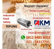 Magnetic separator pulley