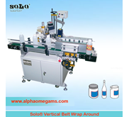 SOLO Wrap Around Vertical Side Belt Labeling Machine