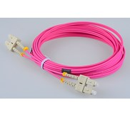 PATCH CORD FO SC-SC MM OM4 50UM