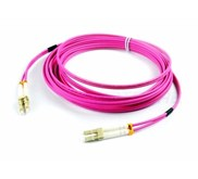 PATCH CORD FO LC-LC MM OM4 50UM