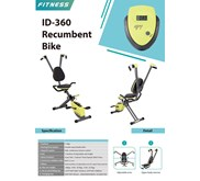 ID 360 RECUMBENT BIKE