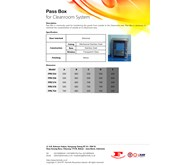Pass Box for Cleanroom System