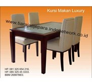 MEJA MAKAN JATI LUXURY