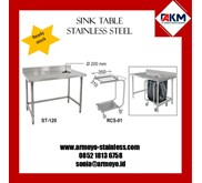 SORTING TABLE STAINLESS STEEL