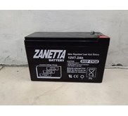 BATTERY VRLA GEL ZANETTA 12V 7.2AH